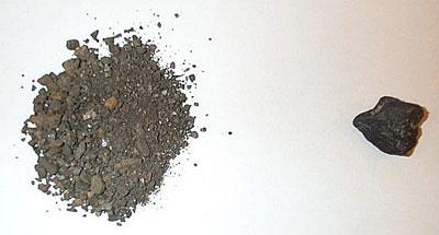 Le Coltan brut